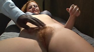 a Secret Hairy Pussy Fucking and Cock Riding Video From a Dungeon