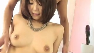 Azumi harusaki sucks boner and sticks it in her willing fish taco