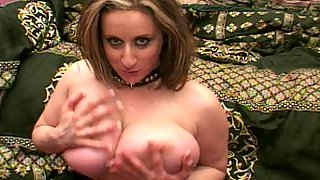 Chubby Big Boobed Babe Serves Her Hairy Beaver For Some Nice Fucking and Sucking For Two Cocks At On
