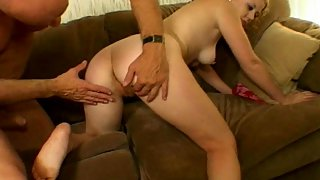Old with Your Furry Pussy Hardcore - Cherry Poppins' Hairy Vagina Fucked By an Experienced Man